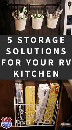 Adding these simple storage solutions in our RV kitchen has made cooking, baking and just LIVING in our RV much more enjoyable! I hope you will try some of them out if you're having similar frustrations in YOUR tiny kitchen! Rv Camping Tips, Travel Trailer Camping, Rv Tips, Camping Stuff, Rv Trip Planner, Travel Planner, Boat Storage, Camper Storage, Rv Storage Solutions