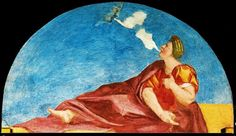 Frescoes of the Farnesina (Zephyr and Flora)