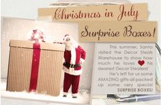 One Time A Year: Surprise Box - On your Mark, get set,....GO!