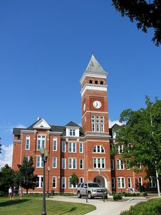 Tillman Hall at Clemson University in South Carolina