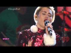 Miley Cyrus - Wrecking Ball - Jingle Ball Madison Square Garden (HD) - weheartnyknicks.c...