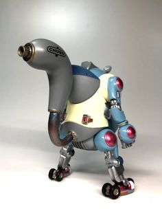 Robot Cute, Art Model, Robots, Cyberpunk, Action Figures, Scale Model, Toys, Modeling, Characters