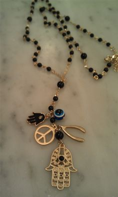$24 Hamsa Rosary <3 New EASY checkout. MC, Visa, Discover accepted!