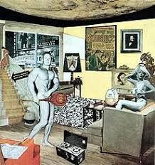 "Richard Hamilton, ""Just what is it that makes today's homes so different, so appealing? Roy Lichtenstein, Cultura Pop, Land Art, Andy Warhol, Le Pop Art, Richard Hamilton, Pop Art Collage, Art Lens, Best Portraits"