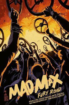 Geniales posters e ilustraciones de Mad Max