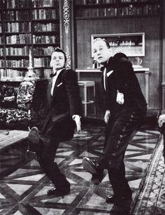 Frank Sinatra and Bing Crosby in High Society, 1956