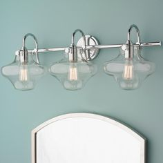 Lowes 9920 sea gull lighting 3 light academy chrome bathroom lowes 9920 sea gull lighting 3 light academy chrome bathroom vanity light let there be light pinterest gull 1 and bathroom vanities mozeypictures Gallery