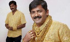 Gouden shirt van 3 kg voor 250.000 dollar.