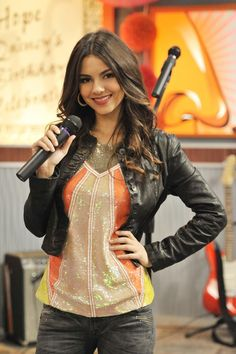 """Victoria Justice plays Tori Vega in """"Victorious"""" on Nickelodeon. Justice is the featured guest at the inaugural Kidz Expo on Saturday."""