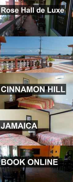 Hotel Rose Hall de Luxe in Cinnamon Hill, Jamaica. For more information, photos, reviews and best prices please follow the link. #Jamaica #CinnamonHill #travel #vacation #hotel