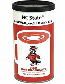 NCAA Collegiate North Carolina State University NCS Wolfpack NCAA College Logo Red Hot Chocolate Mix $7.00