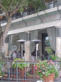 quaint downtown patio dining spot in downtown Naples, FL and more winter escape ideas