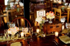 Love Salvage One! Love the Salvage look in general! Chicago Salvage One Wedding