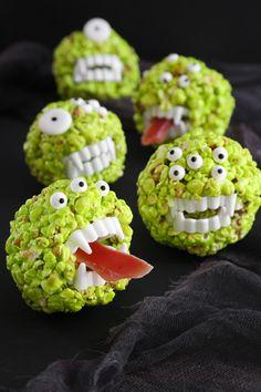 Monster Popcorn Ball