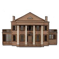 The Laser Cut Beaumont Dollhouse Kit