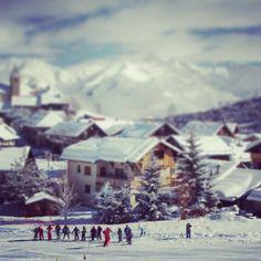 Le village d'Albiez #albiez #mountain