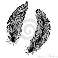 Meku designs feather on white. Go heather feather tree single embroidery designs by v stitch . Peacock feather tattoo designs the imajeg car design trend. Feather quilting designs set design includes a total of . Tribal Feather Tattoos, Feather Tattoo Meaning, Feather Tattoo Design, Feather Art, Tattoos With Meaning, Geometric Tattoos, Mandala Feather, Small Feather Tattoo, Mandala Design