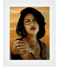 "Selena 8x10"" fine art print"