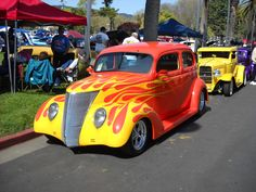"""These """"Ol Skool"""" hot rod shots from SummerNats 2009, seemed like a good way to…"""