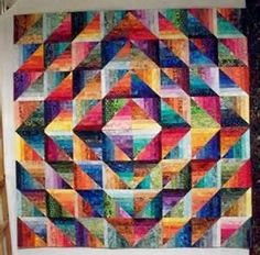 Scrap Quilts on Pinterest | String Quilts, Quilts and Quilting
