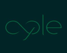 cycle Logo design - Something related to energy saving,<br />something related to power re-utilization...<br /><br />I was inspired in the infinite sign and loops to create the word cycle adding something to its meaning. Price $350.00