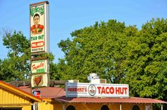 OMG HERBERTS TACO HUT - have eaten there so many times especially after taking part in archaeology digs!  LOOOOOOVED it. San Marcos