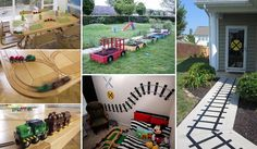 10 Genius Decorations Inspired by Train or Train Track