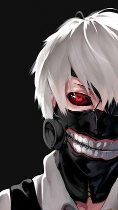 tokyo ghoul, kaneki ken, man, mask, face
