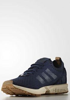 sports shoes 723d0 b8d26 bestil adidas Originals ZX FLUX PRIMEKNIT - Sneakers - collegiate navy gum  til kr 1.049