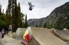 Backflip Turndown (Or in this case a turnup?). Red Bull Event. BMXER Anthony Napolitan.  #BMX