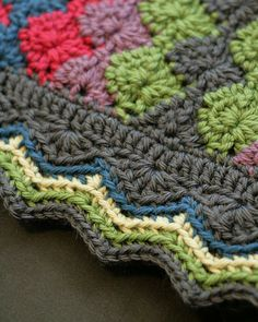 By Request Blanket, de mimknits. http://www.ravelry.com/projects/mimknits/greenway