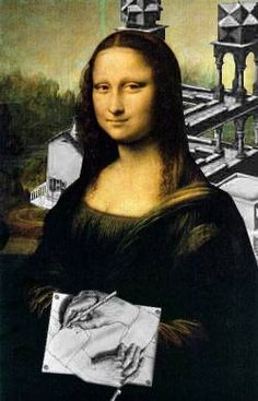 Escher's Mona Lisa