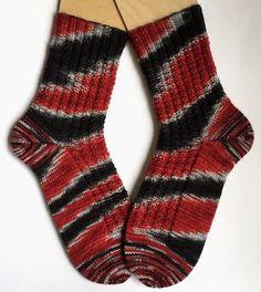 Socken stricken / Marys Sockenparade » ausnahmsweise mal gemustert