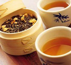 Зелёный чай и мускатный орех