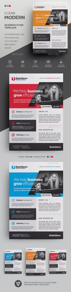 Corporate Flyer Template  Business Flyer  Discover More Ideas