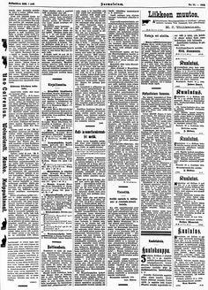 01.06.1904 Suomalainen no 60 - Sanomalehdet - Digitoidut aineistot - Kansalliskirjasto Periodic Table, Diagram, Periodic Table Chart, Periotic Table