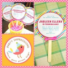 Invitations Oh Lollipop Birthday Party Collection Pinterest