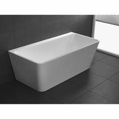 Bathtub Refinishing and Reglazing - Easy DIY Guide Sunken Bathtub, Freestanding Bathtub, Concrete Bathtub, Budget Bathroom, Bathroom Renovations, Bathroom Ideas, Bathrooms, Diy Projects Man Cave, Back To Wall Bath