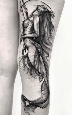 tatuagem tatuagem cascavel tatuagem de rosa tatuagem delicada tatuagem e piercing manaus tatuagem feminina tatuagem moto clube tatuagem no joelho tatuagem old school tatuagem piercing tattoo shop Mermaid Tattoo Designs, Mermaid Drawings, Mermaid Tattoos, Drawing Ariel, Tattoo Girls, Girl Tattoos, Tattoos For Women, Tatoos, Leg Tattoos