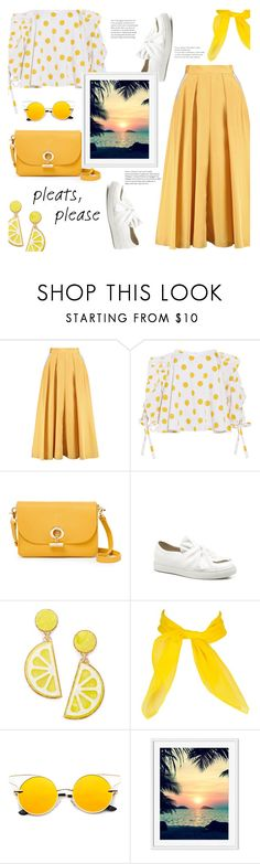 """Sunset Beauty"" by j4wahir ❤ liked on Polyvore featuring Roksanda, Caroline Constas, Waverly and Celebrate Shop"