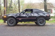 AMC Eagle SX/4..for some reason I wanted one of these...I guess it's a factory made redneck mobile....lol