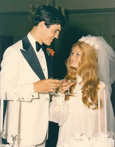 1971 - Wedding Day by Bobeatles, via Flickr Young love