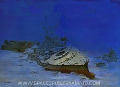 Yamato Battleship Wreck | the exact positioning of the wreckage still wasn t correct this ...