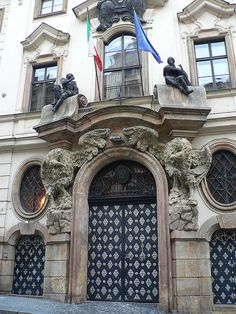 Prague Doorway 2, via Flickr.