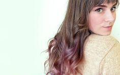 18 Subtle Ways to Add Color to Your Hair via Brit + Co