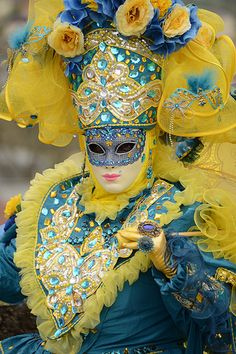 Venice carnival costume/mask 2014 | Flickr - Photo Sharing!