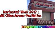 Restaurant Week 2017 : All Cities Across the Nation Deals - https://couponsdowork.com/restaurant-coupons/restaurant-week-2017-all-cities-across-the-nation-deals/