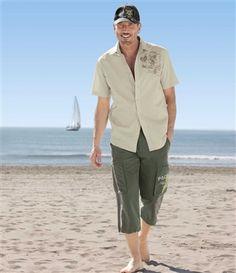 Chemise Wild Beach #atlasformen #avis #discount #livraison #commande #été #summer