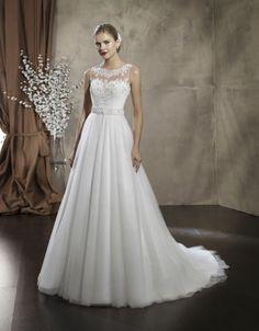 Свадебное платье А-силуэт Vil 837