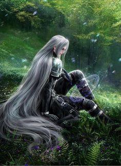 Final Fantasy Characters, Fantasy Art Men, Final Fantasy Vii Remake, Fantasy Warrior, Video Game Characters, Fantasy Series, Anime Fantasy, Vincent Valentine, Cloud Strife